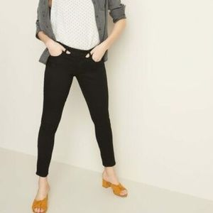 Old Navy Low-Rise Pop Icon Skinny Black Jeans